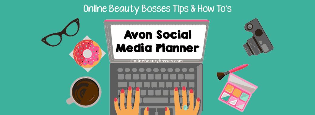 Avon-Social-Media-Planner