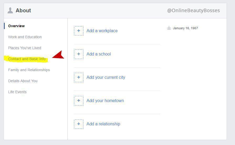 Add Your Avon eStore Link To Facebook