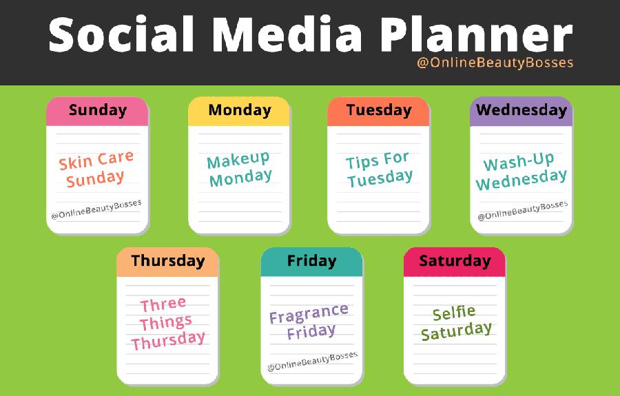 Social-Media-Planner-For-Avon-Posts