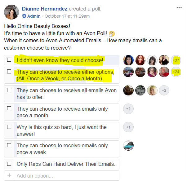 Facebook Survey 1