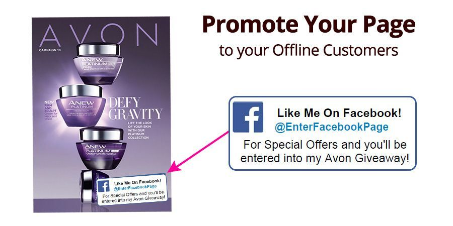 How to promote your Avon Facebook Page