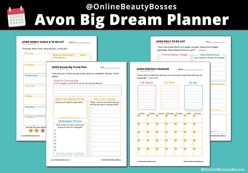 How to achevie your Avon goals