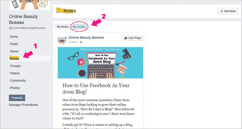 How-To-Access-Facebook-Notes