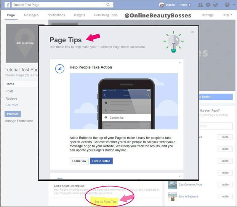 New-Facebook-Page-Tips