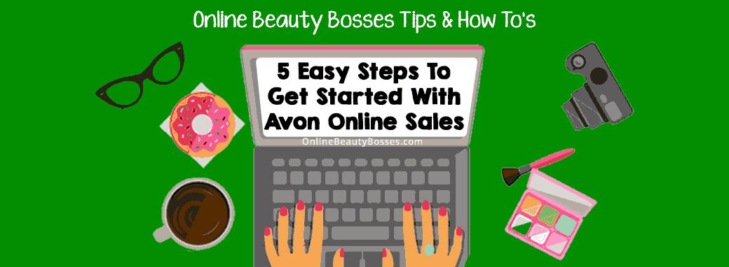 Sell-Avon-Online-5-Steps