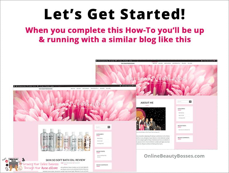 Avon Blog Example