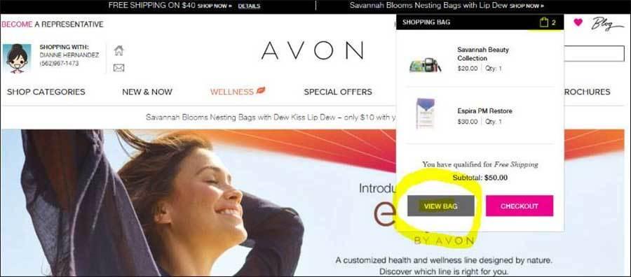 Avon Online Brochure
