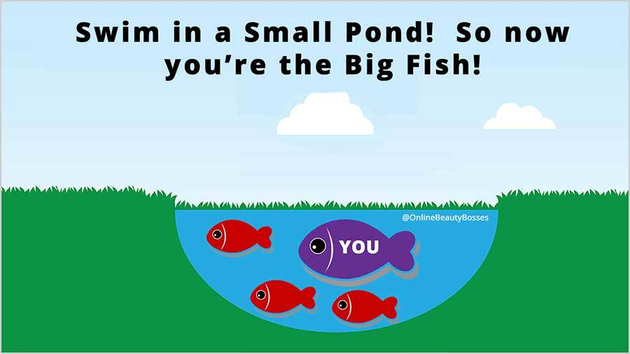 Be A Big Fish in Local Area Search
