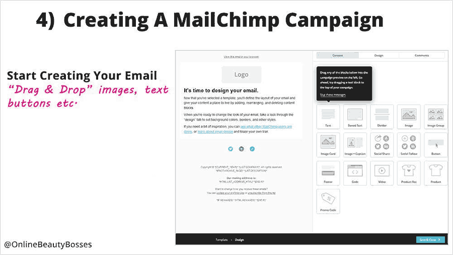 Creating An Email Campaign