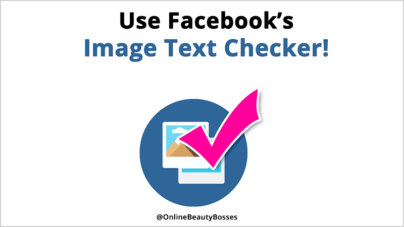 Facebook Image Text Checker