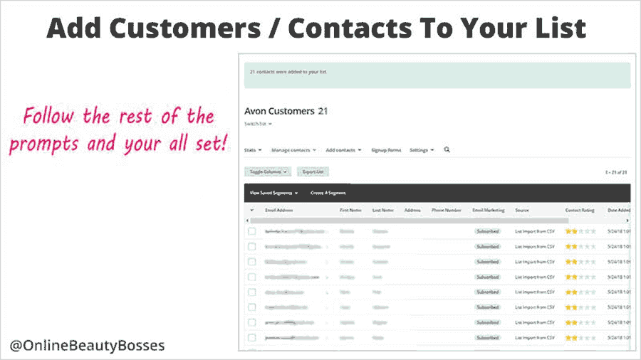 How To Import Your Contacts