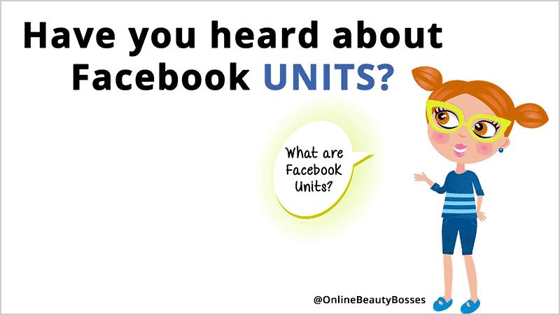 Facebook Units