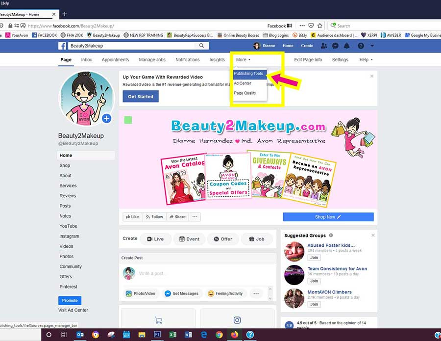 Access Facebook Carousel From Your Page