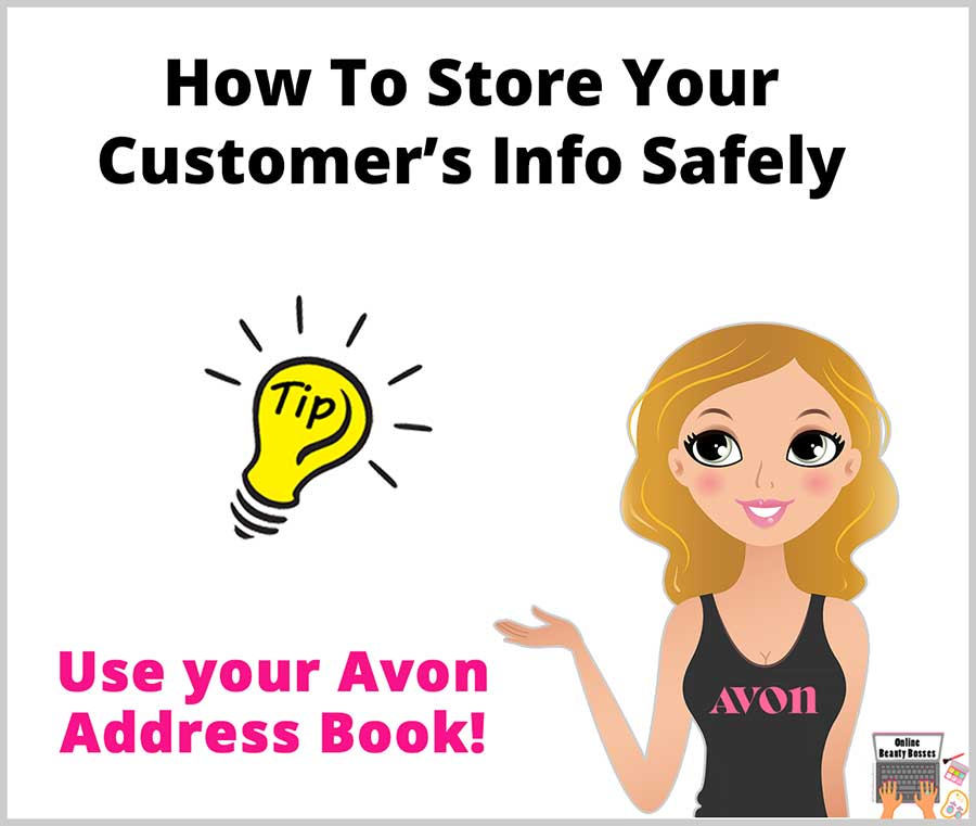 Avon-Address-Book