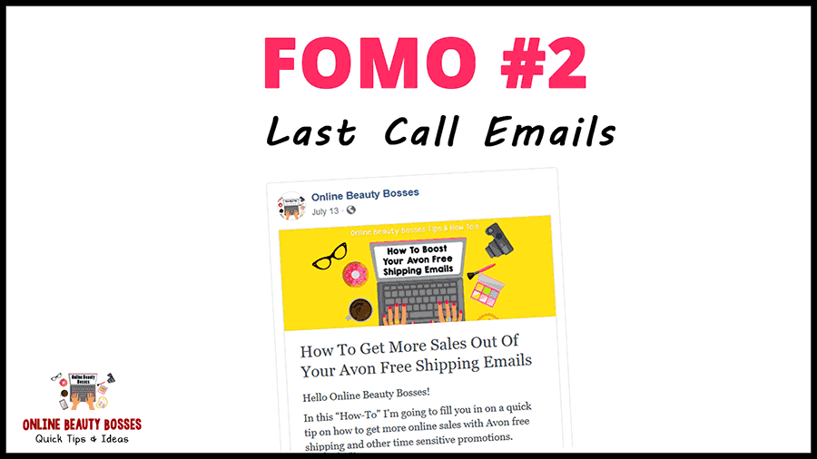 Last Call Emails