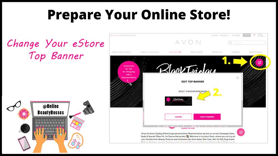 Prepare-Your-Avon-Online-Store