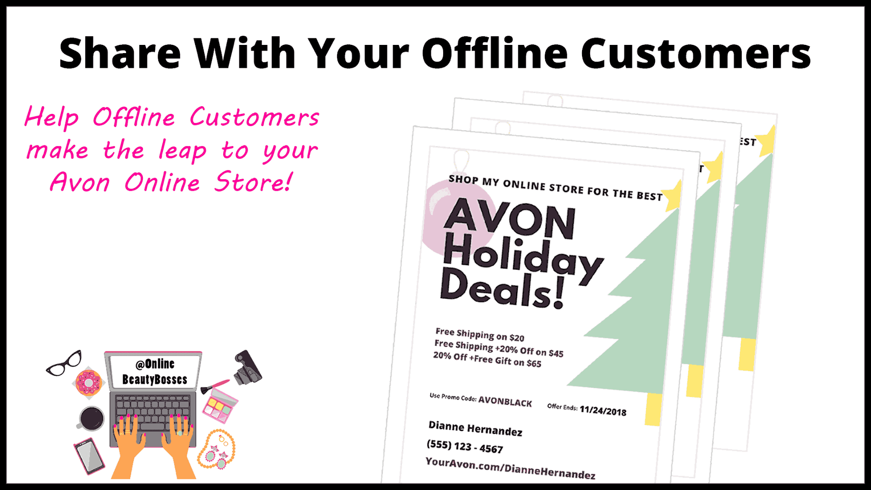 Share With Offline Customers